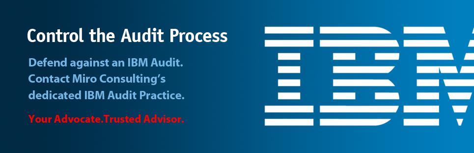 IBM - Control the Audit Process